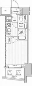 ヴェルシード阪東橋マキシヴ7階Fの間取り画像