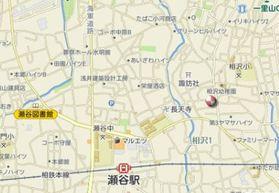 安田アパート案内図