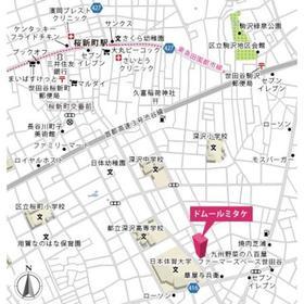 ドムールミタケ案内図