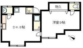 川越市小堤2階Fの間取り画像
