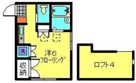 アビタシオンM白楽B棟2階Fの間取り画像