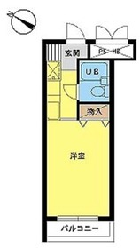 スカイコート宮崎台第31階Fの間取り画像