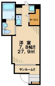 本厚木駅 徒歩17分1階Fの間取り画像