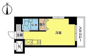 スカイコート西川口第83階Fの間取り画像