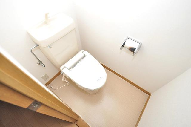 ロンモンターニュ小阪 機能的なバスルームはトイレと別々なので、広々としていますよ。