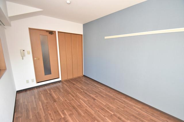 サンピリア小阪 ゆとりのあるベッドルームで快適な睡眠をとってくださいね。