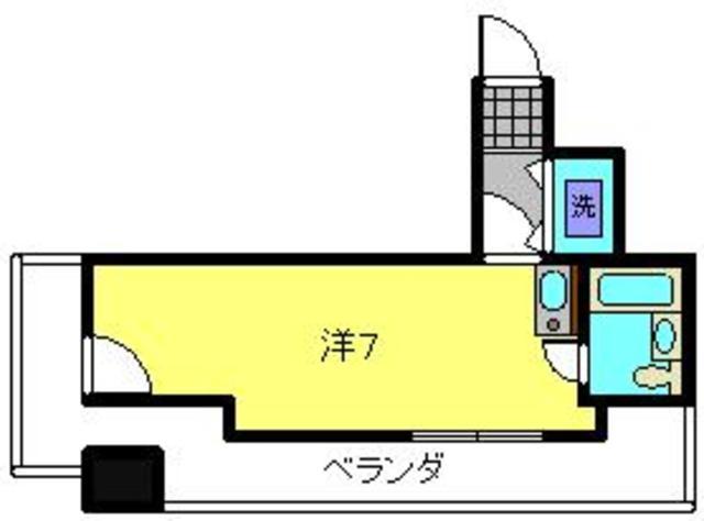 プライム横浜間取図