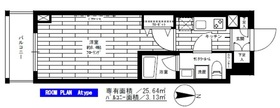 菊川駅 徒歩8分2階Fの間取り画像