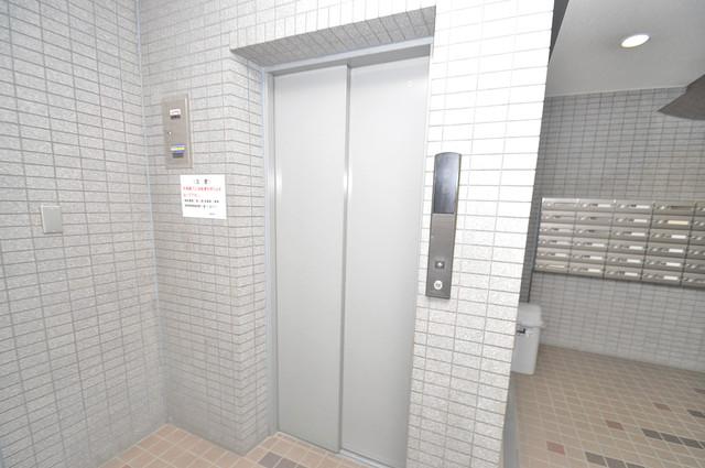 フォレスト今里 嬉しい事にエレベーターがあります。重い荷物を持っていても安心