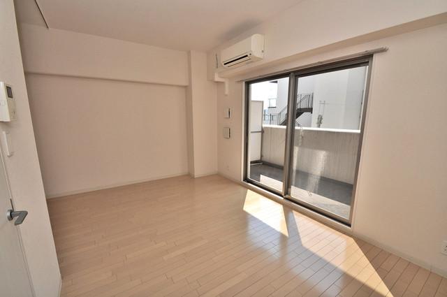 トリニティ東野 朝には心地よい光が差し込む、このお部屋でお休みください。