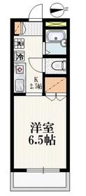 野方駅 徒歩19分2階Fの間取り画像