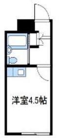 スカイピアさがみ野ⅡC2階Fの間取り画像