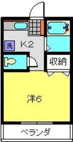 新横浜駅 徒歩16分1階Fの間取り画像