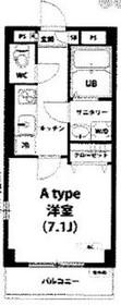 八丁畷駅 徒歩21分6階Fの間取り画像