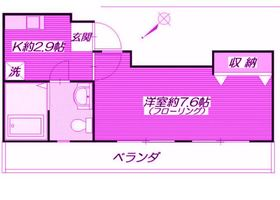 アネックス新横浜 B棟1階Fの間取り画像