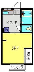 アミティーNo31階Fの間取り画像