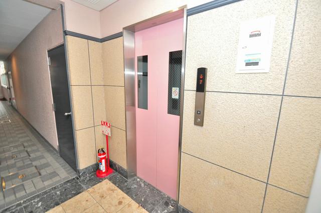 リップル布施イースト 嬉しい事にエレベーターがあります。重い荷物を持っていても安心