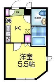 アージュドール錦糸町1階Fの間取り画像