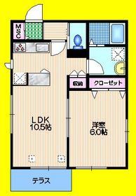 my kugayama1階Fの間取り画像