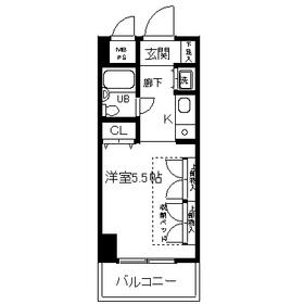 鶴間駅 徒歩5分4階Fの間取り画像