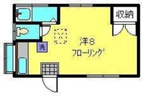 横井ハウス1階Fの間取り画像