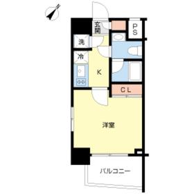 スカイコート池袋西壱番館8階Fの間取り画像