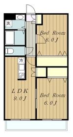 ノーブルマンション相模大野3階Fの間取り画像