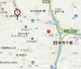 アパートメント麻布№10案内図