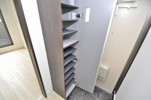 Realize長瀬 もちろん収納スペースも確保。お部屋がスッキリ片付きますね。