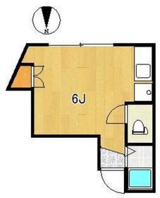 ベアーヴァレー4階Fの間取り画像