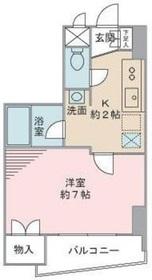 MYハイツ本郷4階Fの間取り画像