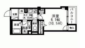 インペリアルヒルズ2階Fの間取り画像