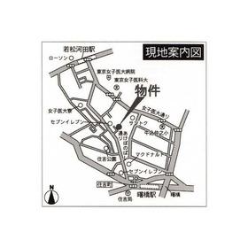 東急ビューレジデンス市ヶ谷河田町案内図