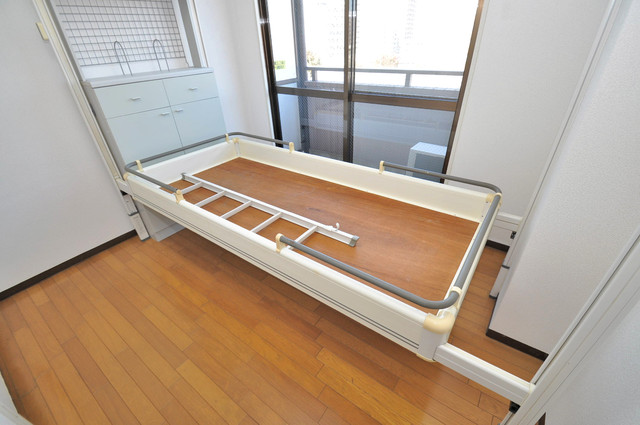 シティビラ新深江 ドーンとこのようなベッドも標準装備っ