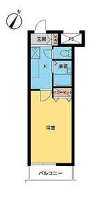 スカイコート神田4階Fの間取り画像