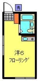 和田町駅 徒歩11分1階Fの間取り画像