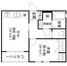 布田駅 徒歩7分2階Fの間取り画像
