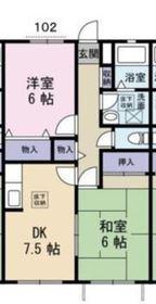 高田駅 徒歩25分1階Fの間取り画像