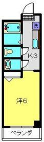 テレーズ3階Fの間取り画像