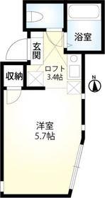 追浜駅 徒歩6分2階Fの間取り画像