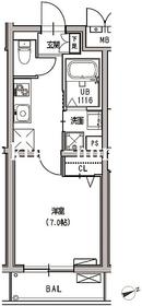 MDM早稲田3階Fの間取り画像
