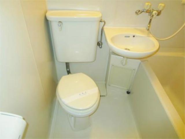 コートビレッジ桜ヶ丘パート2トイレ