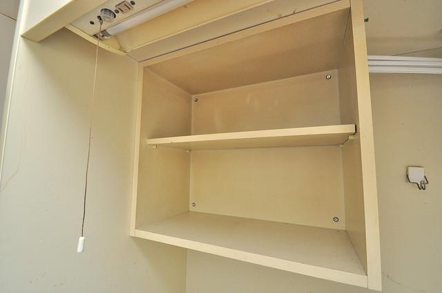 センチュリーシティⅡ キッチン棚も付いていて食器収納も困りませんね。