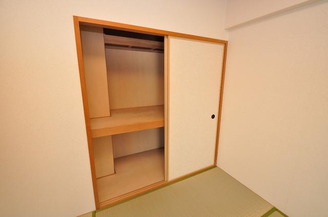 グランシャトレー DAIWA もちろん収納スペースも確保。おかげでお部屋の中がスッキリ。
