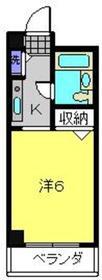 ビートルズスクエアー横浜4階Fの間取り画像