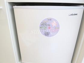小型冷蔵庫置き場です☆