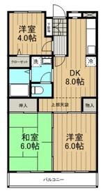登戸駅 徒歩12分5階Fの間取り画像