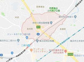 ヒルズ二俣川案内図