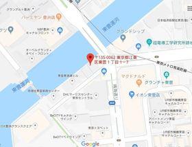 東雲駅 徒歩12分案内図
