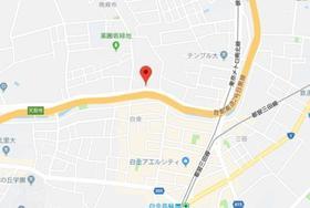 白金高輪駅 徒歩7分案内図